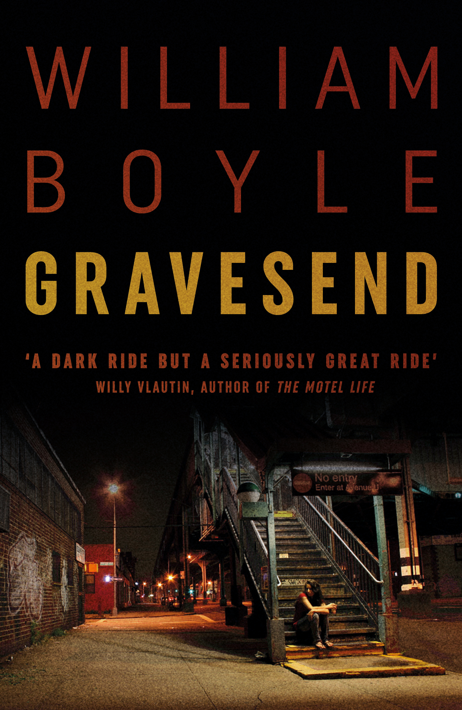 Gravesend – William Boyle [book offer]