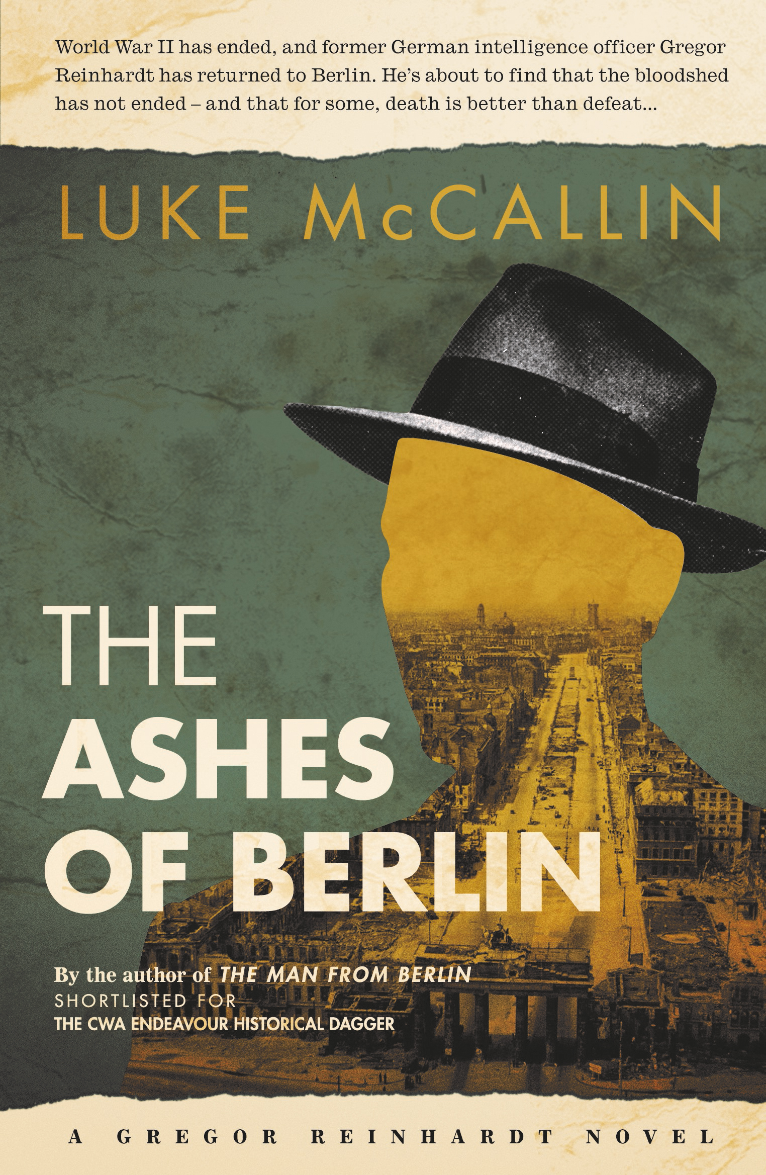The Ashes of Berlin – Luke McCallin [book offer]