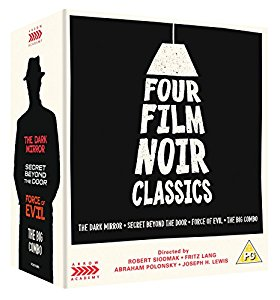 FOUR FILM NOIR CLASSICS and other new Blu-Rays