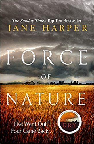 Force of Nature by Jane Harper, Anatomy of a Scandal by Sarah Vaughan