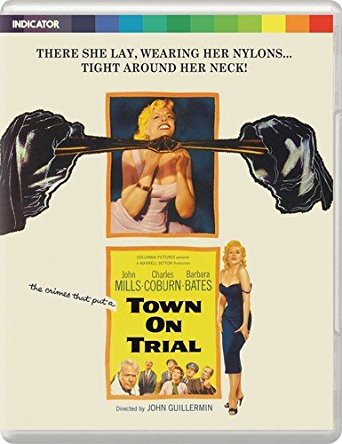 TOWN ON TRIAL, John Guillermin, director/Powerhouse Indicator Blu-Ray