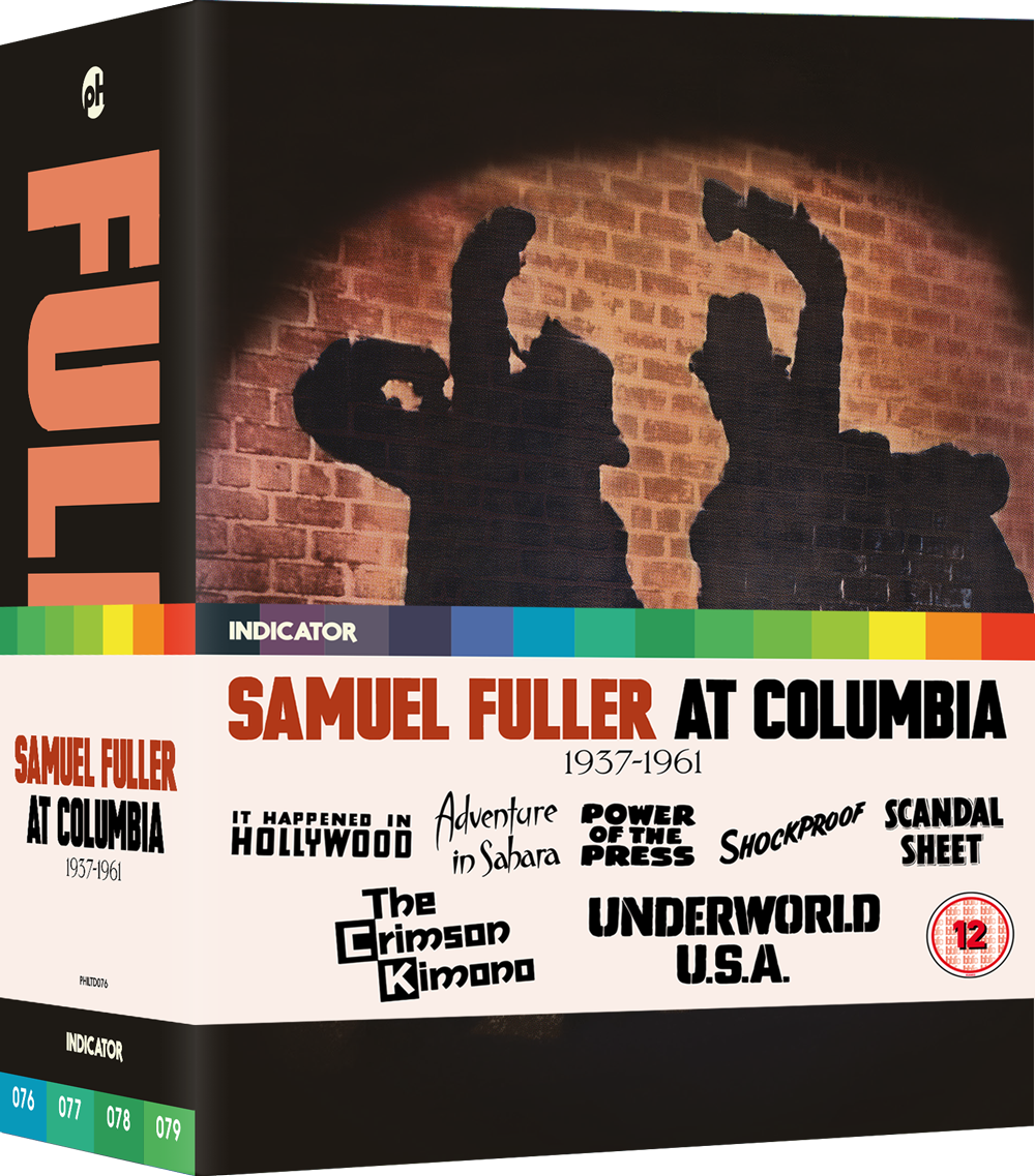 Underworld USA and other new Crime Blu-rays