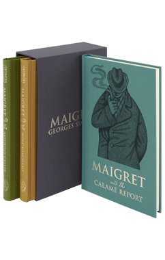Maigret Collection/Georges Simenon: Maigret and the Calame Report/ Maigret and the Wine Merchant/ Maigret and the Saturday Caller