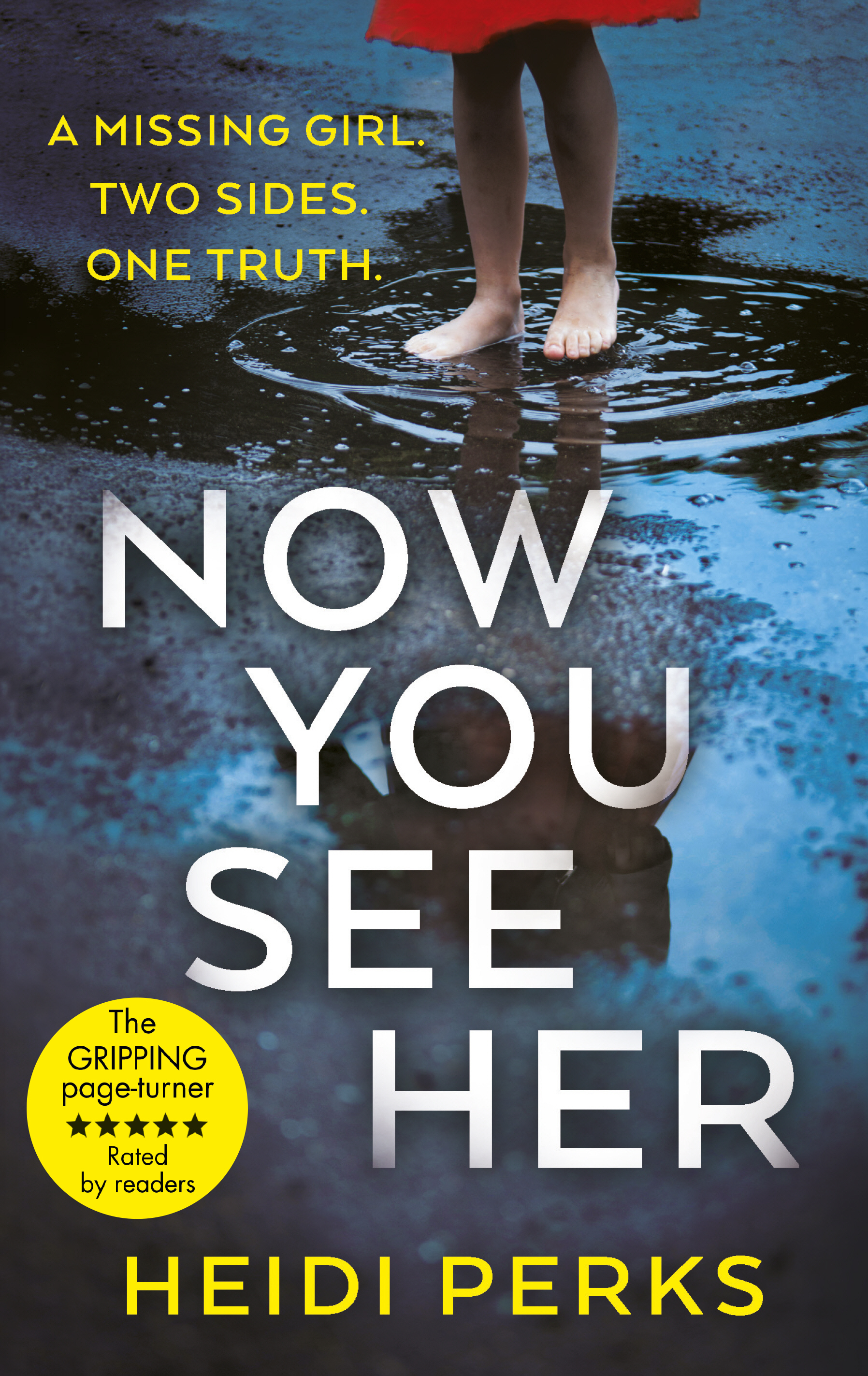 Now You See Her: Heidi Perks talks to Crime Time