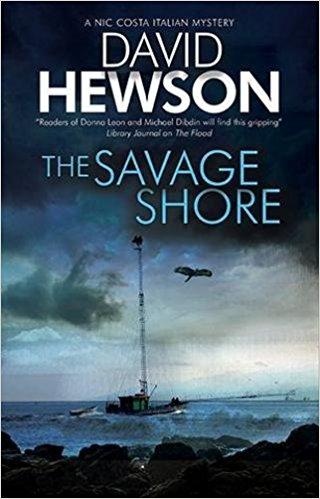 The Savage Shore: David Hewson talks to Crime Time