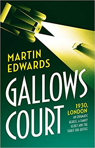 Gallows Court: Martin Edwards talks to Crime Time