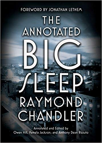 The Annotated Big Sleep by Raymond Chandler  & Only to Sleep by Lawrence Osborne